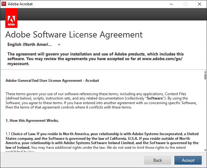 How to Get Past the Acrobat Trial License Window when