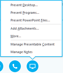 Sharing Your Screen Through Skype for Business | ADMIN IT