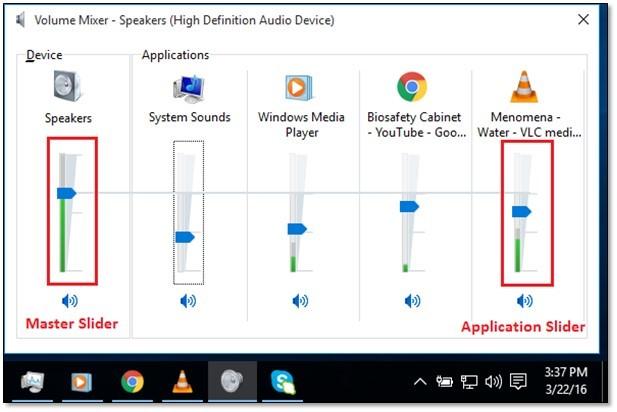 Adjust Volumes Per Application | ADMIN IT